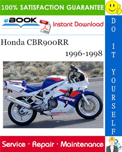 Thumbnail ☆☆ Best ☆☆ Honda CBR900RR Motorcycle Service Repair Manual 1996-1998 Download