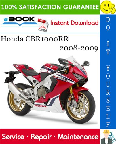 Thumbnail ☆☆ Best ☆☆ Honda CBR1000RR Motorcycle Service Repair Manual 2008-2009 Download
