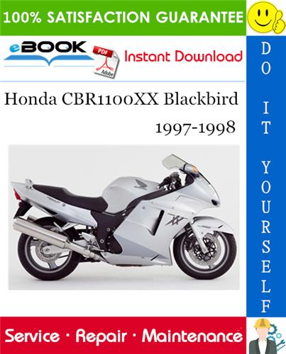 Thumbnail ☆☆ Best ☆☆ Honda CBR1100XX Blackbird Motorcycle Service Repair Manual 1997-1998 Download