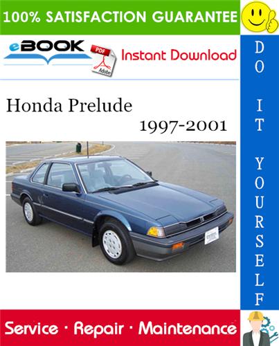 Thumbnail ☆☆ Best ☆☆ Honda Prelude Service Repair Manual 1997-2001 Download