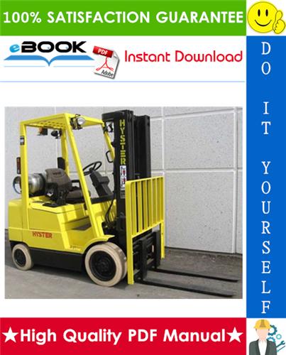 Thumbnail ☆☆ Best ☆☆ Hyster SPACESAVER S25XM, S30XM, S35XM, S40XMS (C010) Forklift Trucks Parts Manual
