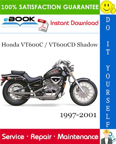 Thumbnail ☆☆ Best ☆☆ Honda VT600C / VT600CD Shadow Motorcycle Service Repair Manual 1997-2001 Download