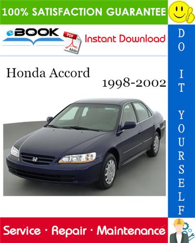 Thumbnail ☆☆ Best ☆☆ Honda Accord Service Repair Manual 1998-2002 Download
