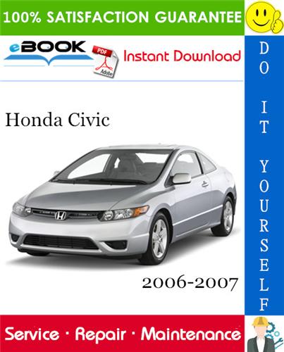 Thumbnail ☆☆ Best ☆☆ Honda Civic Service Repair Manual 2006-2007 Download