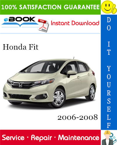Thumbnail ☆☆ Best ☆☆ Honda Fit Service Repair Manual 2006-2008 Download