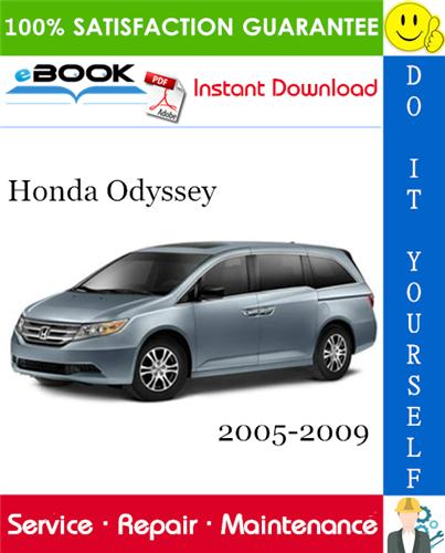 Thumbnail ☆☆ Best ☆☆ Honda Odyssey Service Repair Manual 2005-2009 Download