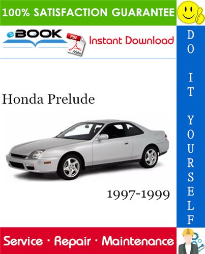 Thumbnail ☆☆ Best ☆☆ Honda Prelude Service Repair Manual 1997-1999 Download
