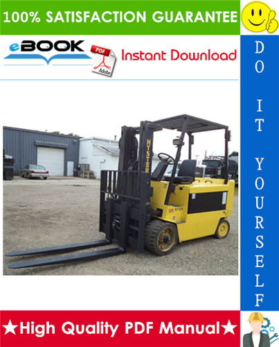 Thumbnail ☆☆ Best ☆☆ Hyster E70XL, E80XL, E100XL, E100XLS, E120XL (C098) Electric Forklift Trucks Parts Manual