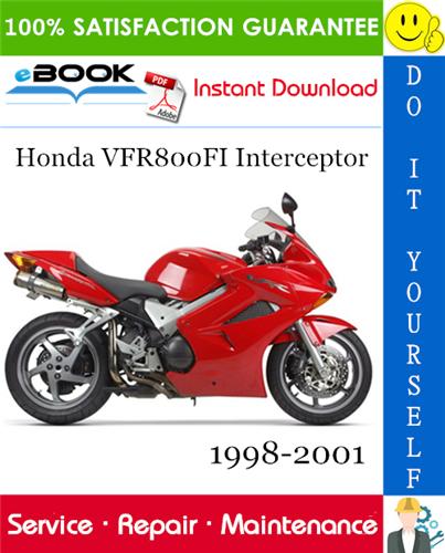 Thumbnail ☆☆ Best ☆☆ Honda VFR800FI Interceptor Motorcycle Service Repair Manual 1998-2001 Download