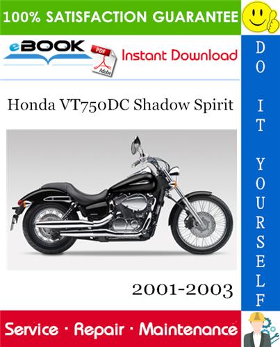 Thumbnail ☆☆ Best ☆☆ Honda VT750DC Shadow Spirit Motorcycle Service Repair Manual 2001-2003 Download