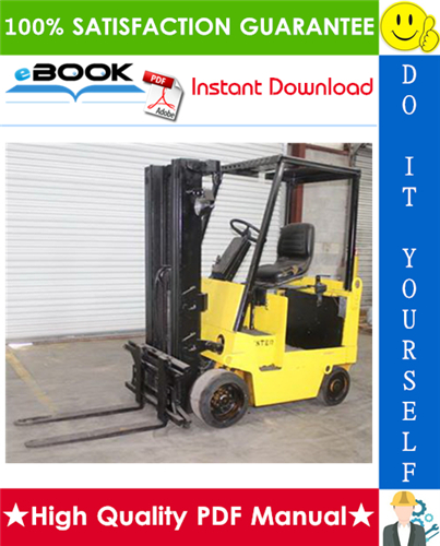 Thumbnail ☆☆ Best ☆☆ Hyster E40XL, E50XL, E55XL, E60XL (C108) Forklift Trucks Parts Manual