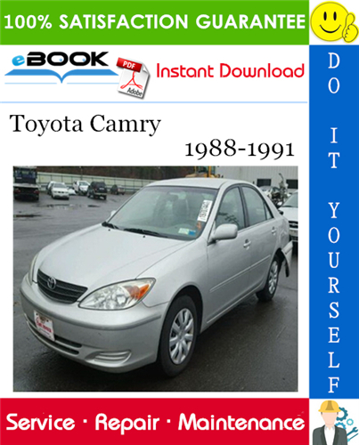 Thumbnail ☆☆ Best ☆☆ Toyota Camry Service Repair Manual 1988-1991 Download