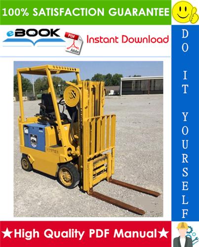 Thumbnail ☆☆ Best ☆☆ Hyster E25XL (E1.25XL), E30XL (E1.50XL), E35XL (E1.75XL) [C114] Forklift Trucks Parts Manual