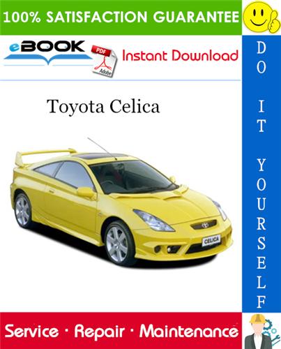 Thumbnail ☆☆ Best ☆☆ 2000 Toyota Celica Service Repair Manual