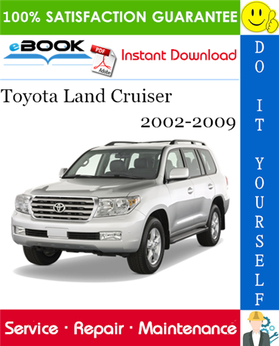 Thumbnail ☆☆ Best ☆☆ Toyota Land Cruiser Service Repair Manual 2002-2009 Download