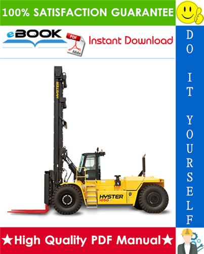 Thumbnail ☆☆ Best ☆☆ Hyster Challenger H36.00C (H800C), H40.00C (H880C), H44.00C (H970C), H48.00CH (H1050CH) [C117] Forklift Trucks Parts Manual