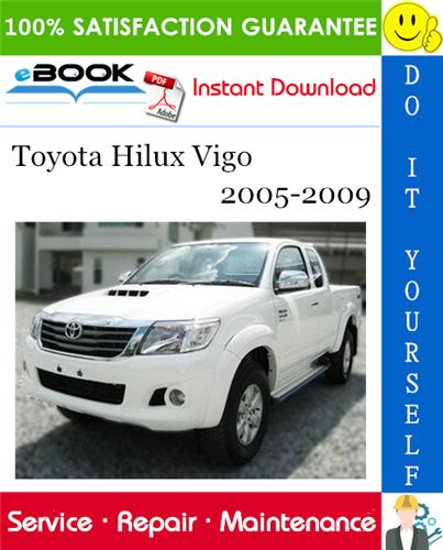 Thumbnail ☆☆ Best ☆☆ Toyota Hilux Vigo Service Repair Manual 2005-2009 Download