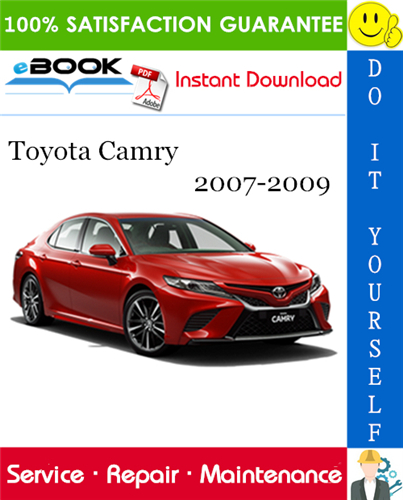 Thumbnail ☆☆ Best ☆☆ Toyota Camry Service Repair Manual 2007-2009 Download