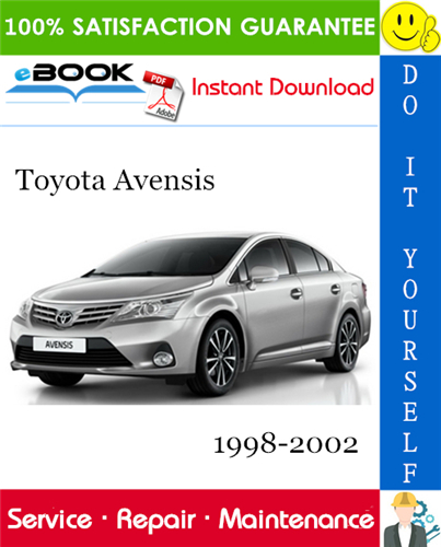 Thumbnail ☆☆ Best ☆☆ Toyota Avensis Service Repair Manual 1998-2002 Download