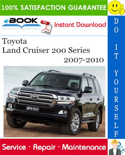 Thumbnail ☆☆ Best ☆☆ Toyota Land Cruiser 200 Series Service Repair Manual 2007-2010 Download