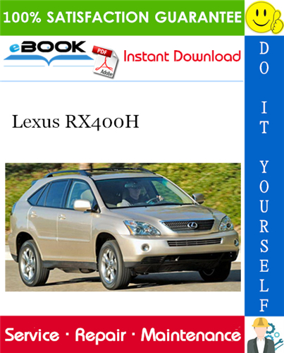 Thumbnail ☆☆ Best ☆☆ 2006 Lexus RX400H Service Repair Manual