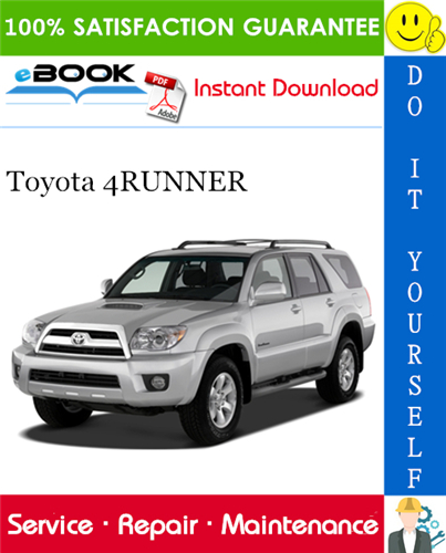 Thumbnail ☆☆ Best ☆☆ 2007 Toyota 4RUNNER Service Repair Manual
