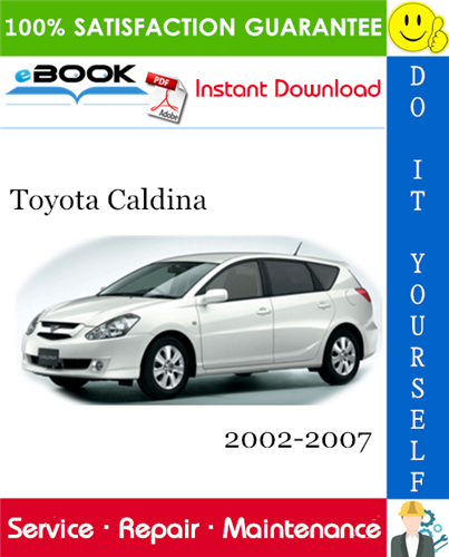 Thumbnail ☆☆ Best ☆☆ Toyota Caldina Service Repair Manual 2002-2007 Download