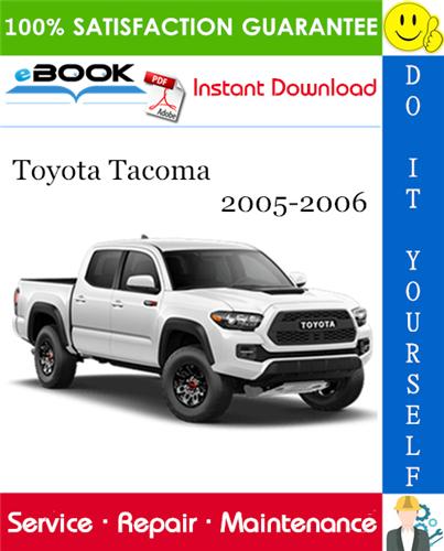 Thumbnail ☆☆ Best ☆☆ Toyota Tacoma Service Repair Manual 2005-2006 Download