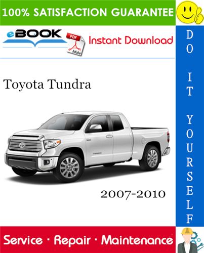 Thumbnail ☆☆ Best ☆☆ Toyota Tundra Service Repair Manual 2007-2010 Download
