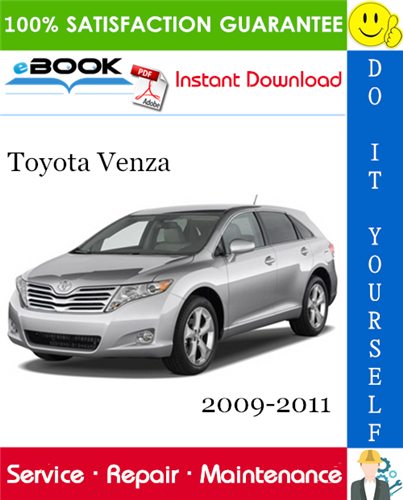 Thumbnail ☆☆ Best ☆☆ Toyota Venza Service Repair Manual 2009-2011 Download