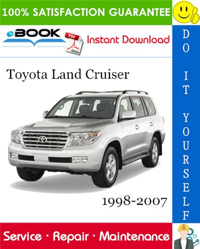 Thumbnail ☆☆ Best ☆☆ Toyota Land Cruiser Service Repair Manual 1998-2007 Download