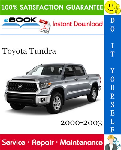 Thumbnail ☆☆ Best ☆☆ Toyota Tundra Service Repair Manual 2000-2003 Download