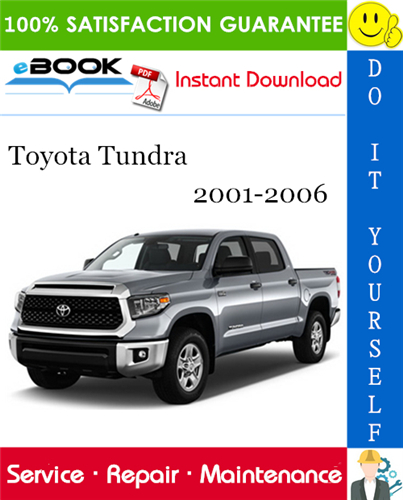Thumbnail ☆☆ Best ☆☆ Toyota Tundra Service Repair Manual 2001-2006 Download
