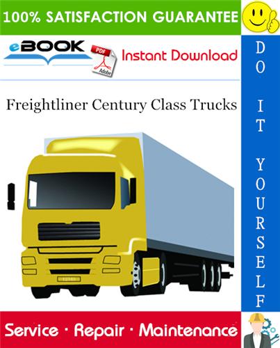 Thumbnail ☆☆ Best ☆☆ Freightliner Century Class Trucks Service Repair Manual