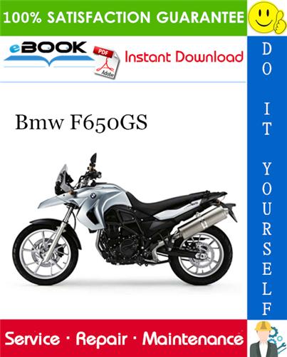 Thumbnail ☆☆ Best ☆☆ Bmw F650GS Motorcycle Service Repair Manual