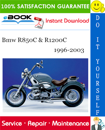 Thumbnail ☆☆ Best ☆☆ Bmw R850C & R1200C Motorcycle Service Repair Manual 1996-2003 Download