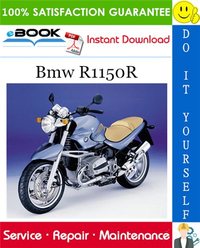 Thumbnail ☆☆ Best ☆☆ Bmw R1150R Motorcycle Service Repair Manual
