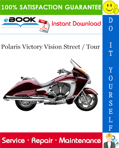 Thumbnail ☆☆ Best ☆☆ 2008 Polaris Victory Vision Street / Tour Motorcycle Service Repair Manual
