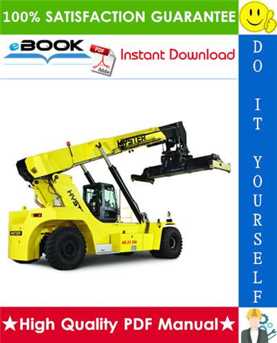 Thumbnail ☆☆ Best ☆☆ Hyster YardMaster HR45-25, HR45-27, HR43-31, HR45-40S, HR45-36L, HR45-40LS, HR45H, HR45LSX (C227) Container Handlers Parts Manual