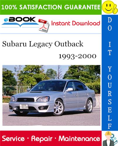 Thumbnail ☆☆ Best ☆☆ Subaru Legacy Outback Service Repair Manual 1993-2000 Download