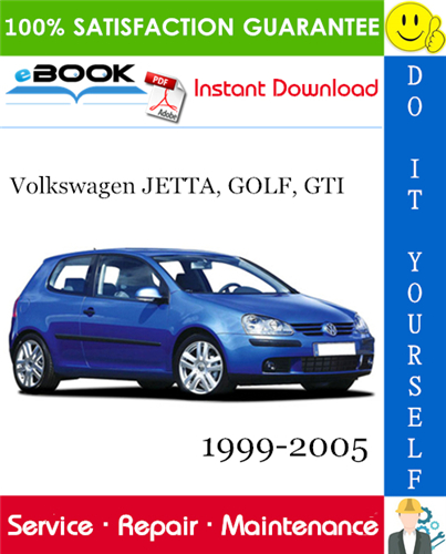 Thumbnail ☆☆ Best ☆☆ Volkswagen JETTA, GOLF, GTI Service Repair Manual 1999-2005 Download