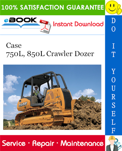 Thumbnail ☆☆ Best ☆☆ Case 750L, 850L Crawler Dozer Service Repair Manual