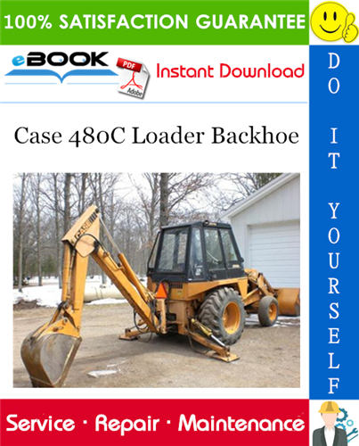 Thumbnail ☆☆ Best ☆☆ Case 480C Loader Backhoe Service Repair Manual