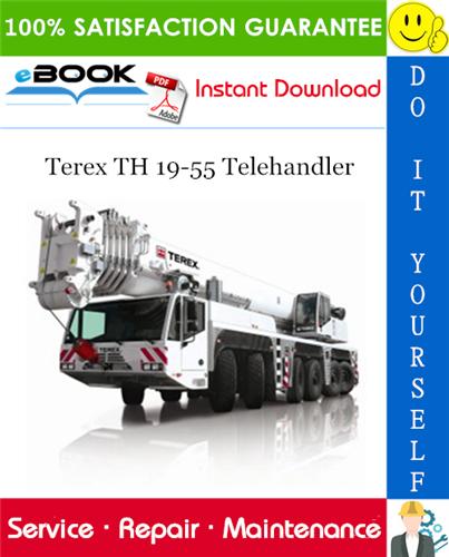 Thumbnail ☆☆ Best ☆☆ Terex TH 19-55 Telehandler Service Repair Manual