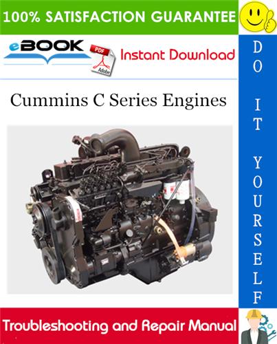 Thumbnail ☆☆ Best ☆☆ Cummins C Series Engines Troubleshooting and Repair Manual