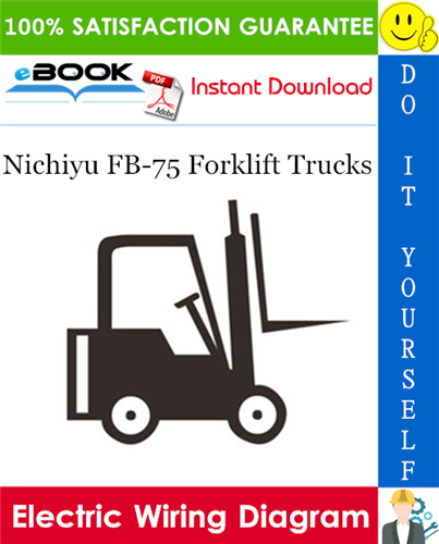 Thumbnail ☆☆ Best ☆☆ Nichiyu FB-75 Forklift Trucks Electric Wiring Diagram