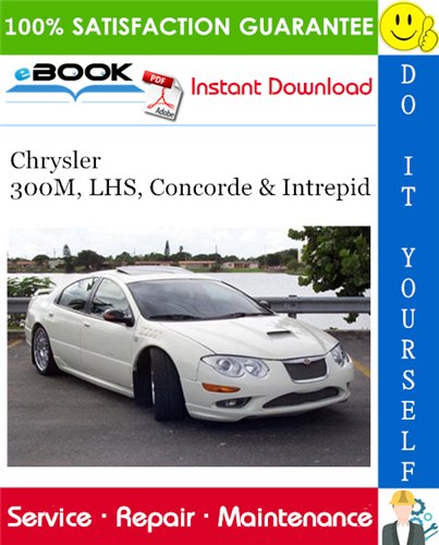 Thumbnail ☆☆ Best ☆☆ 2000 Chrysler 300M, LHS, Concorde & Intrepid Service Repair Manual