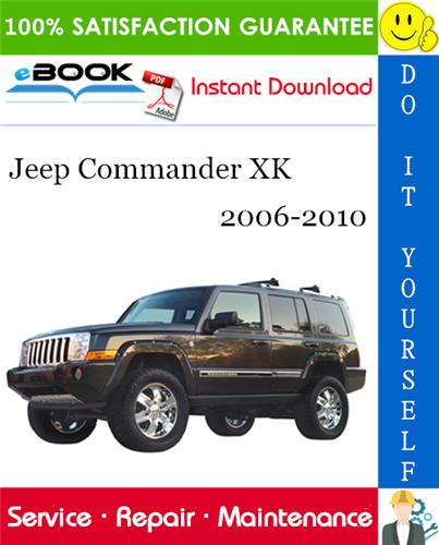 Thumbnail ☆☆ Best ☆☆ Jeep Commander XK Service Repair Manual 2006-2010 Download