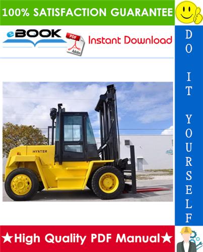 Thumbnail ☆☆ Best ☆☆ Hyster H165XL, H190XL, H210XL, H230XL, H250XL, H280XL (D007) Forklift Trucks Parts Manual