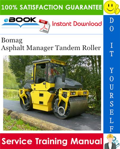 Thumbnail ☆☆ Best ☆☆ Bomag Asphalt Manager Tandem Roller Service Training Manual